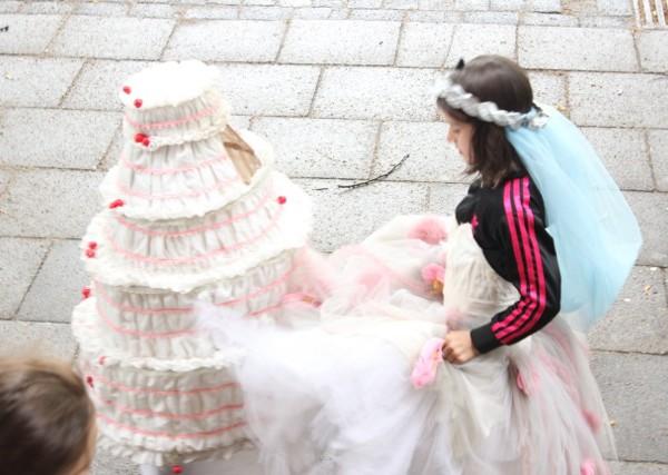 Prinzessin und torte