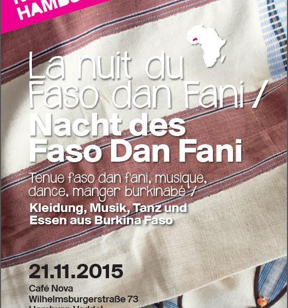 La nuit du Faso dan Fani