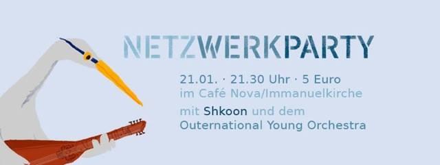 Banner Netzwerkparty