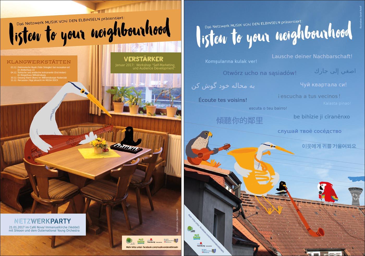 Plakate Kl+Net