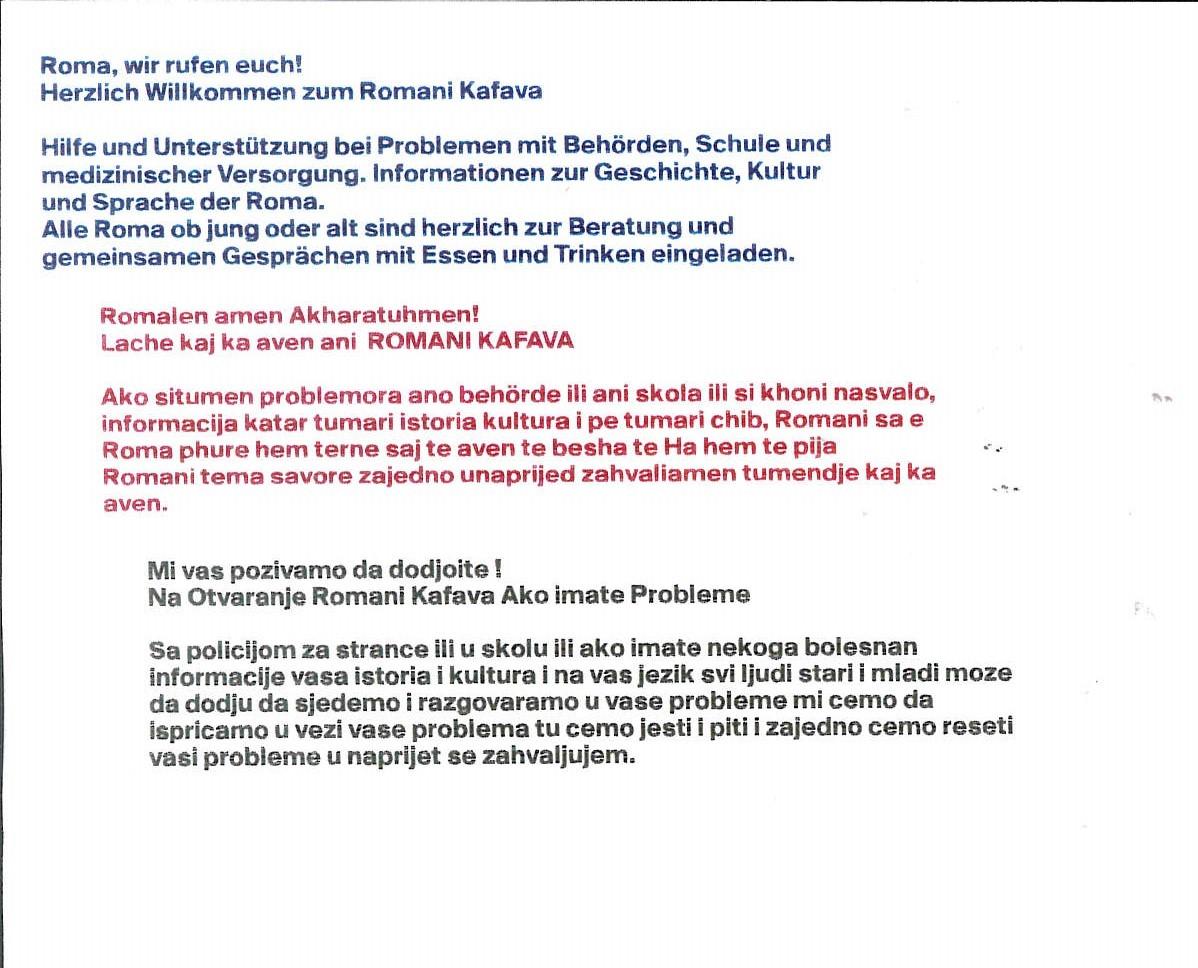 Eröffnung Romani Kafava (2)
