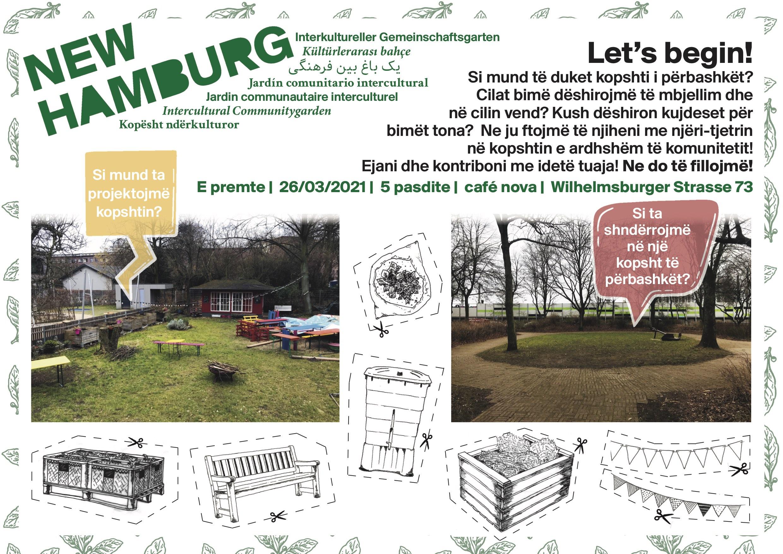 Plakat_Treffen_Gartengestaltung_Albanisch