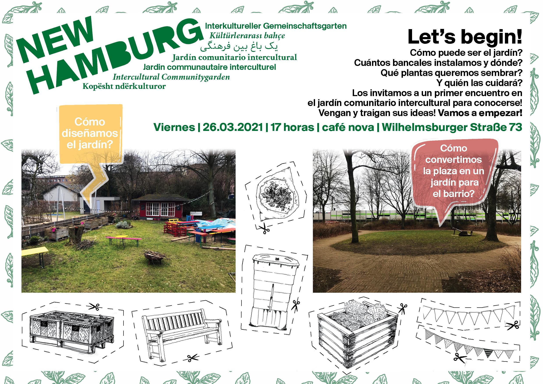 Plakat_Treffen_Gartengestaltung_Spanisch